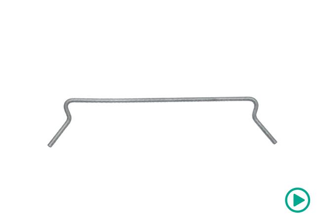 Nudura vertical clip